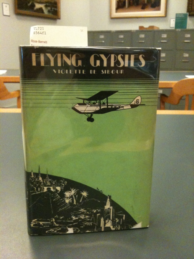 Book Cover - Flying Gypsies