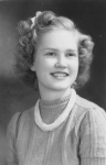 Evelyn Hancock Junior Year 1942