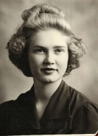 Evelyn Hancock Senior Year 1943