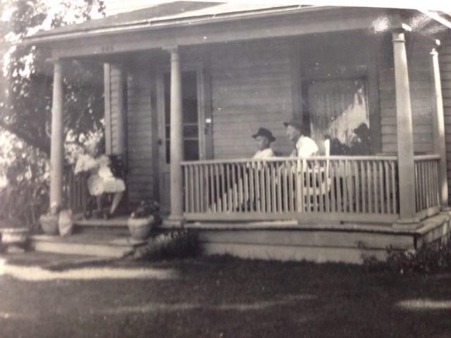 Lulu Baber, Bernard Hancock and John Baber