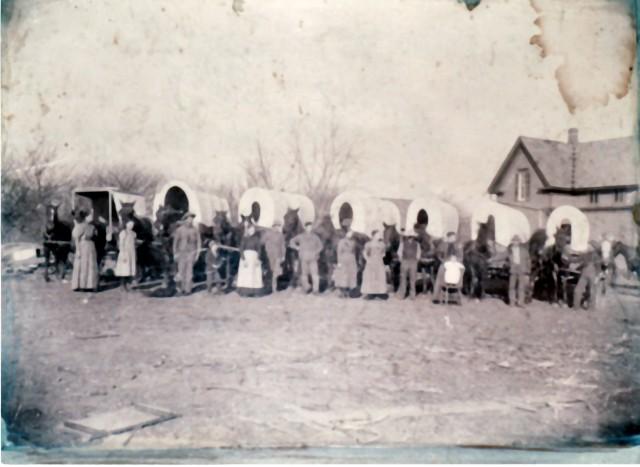 Robert Allen Foreman Family to Oklahoma copy