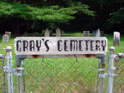 Thankful Scofield, Gray's Cemetery
