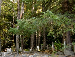 Gold Rush Cemetery Skagway