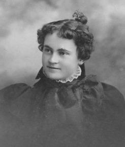 Grace Irene Squires ca 1890