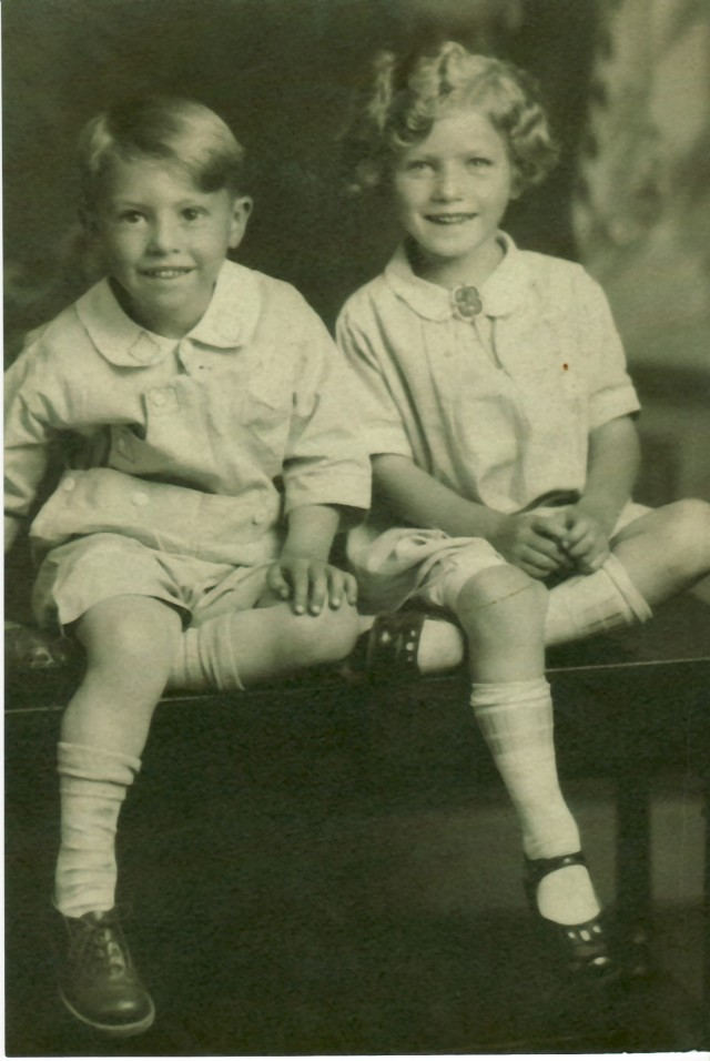 Jerry and Signe abt 1930