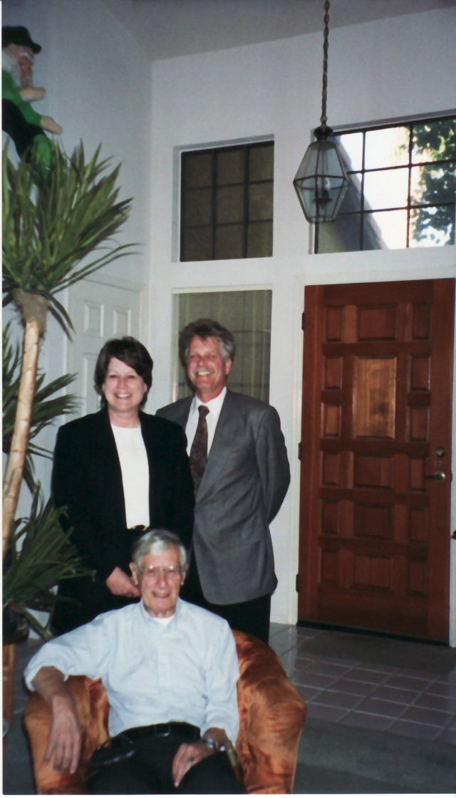 Carol and Donald Stalter with father Jerry Stalter 1997
