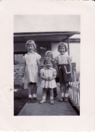 Sharon, Don, Linda and Carol Stalter about 1950