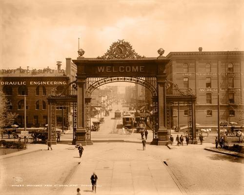 Mizpah Arch 1908