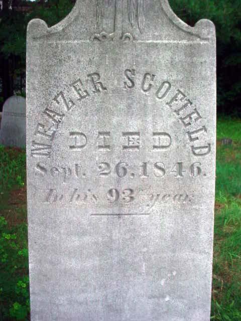 Neazer Scofield grave