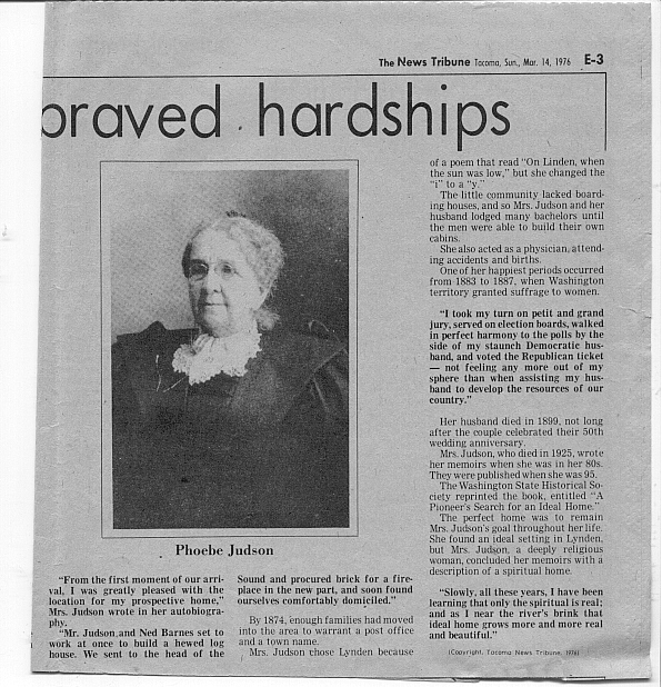 Phoebe Goodell Judson article