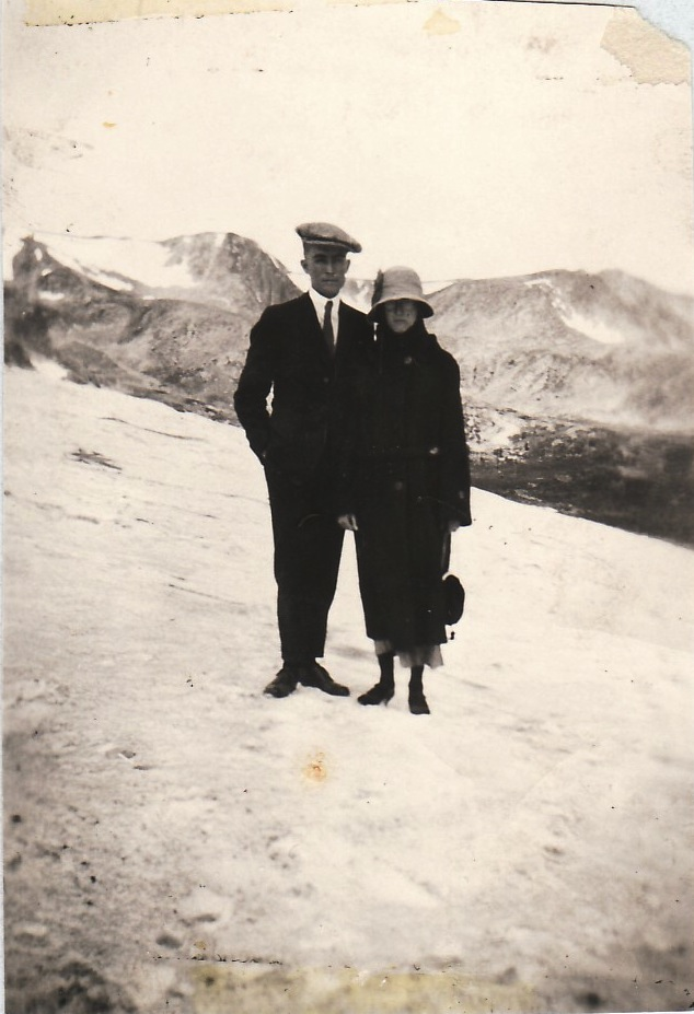 Bernard & Frances above Moffat Tunnel -13