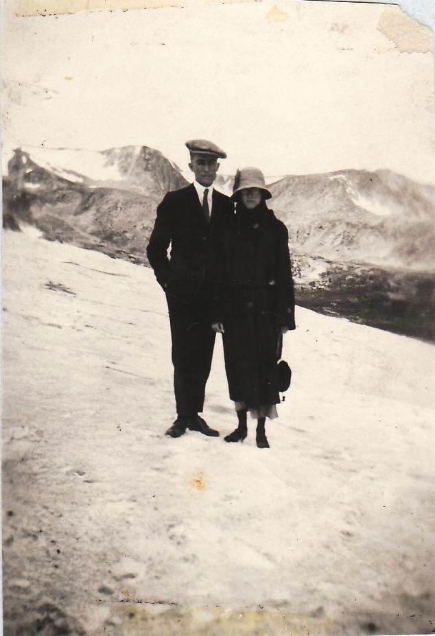 Bernard & Frances above Moffat Tunnel -13